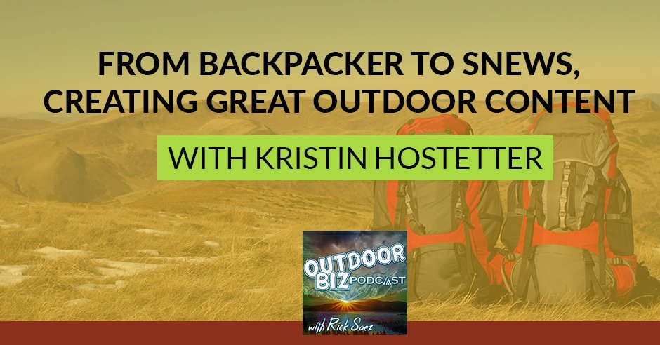 Creating Great Outdoor Content